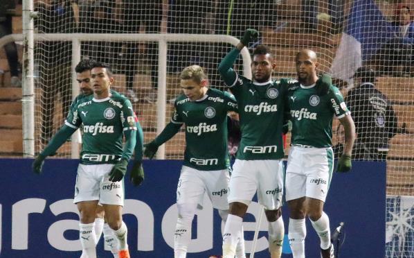 بالميراس يتعادل مع باهيا في الدوري البرازيلي