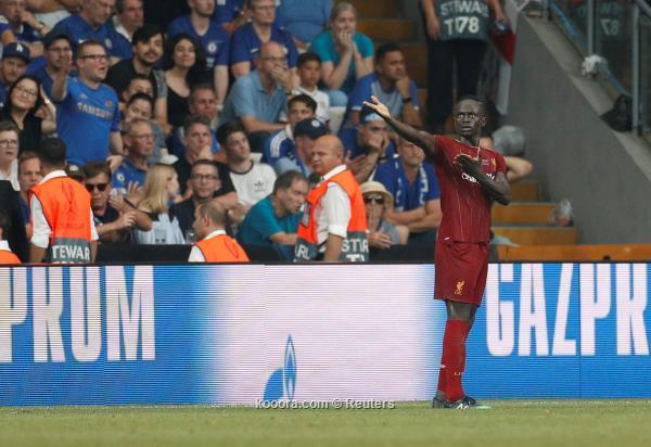 ماني يزاحم لاعبي ليفربول على الافضل في السوبر