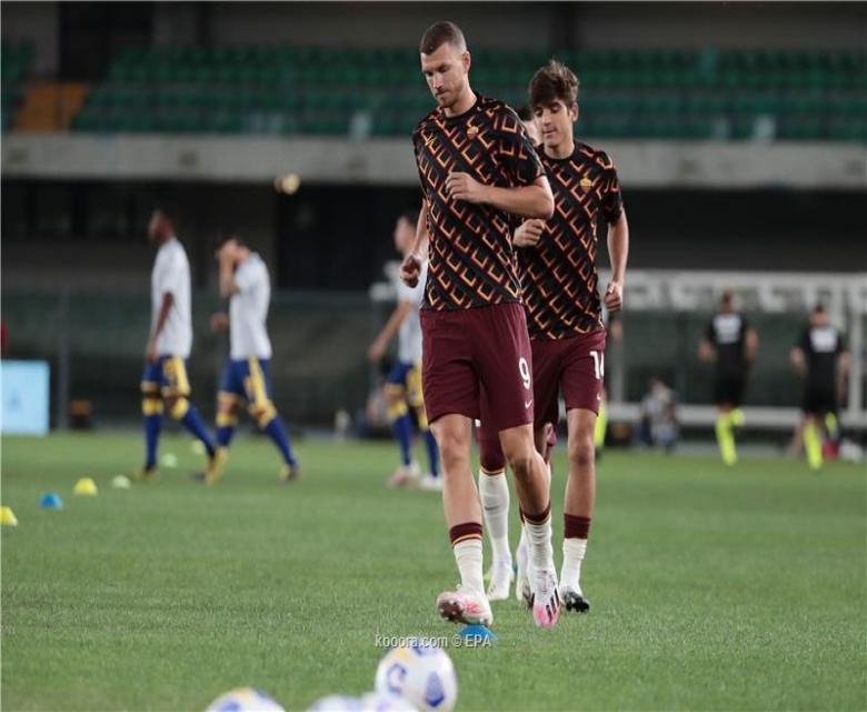 مهاجم روما دجيكو يربط نفسه بالرحيل لبرشلونة