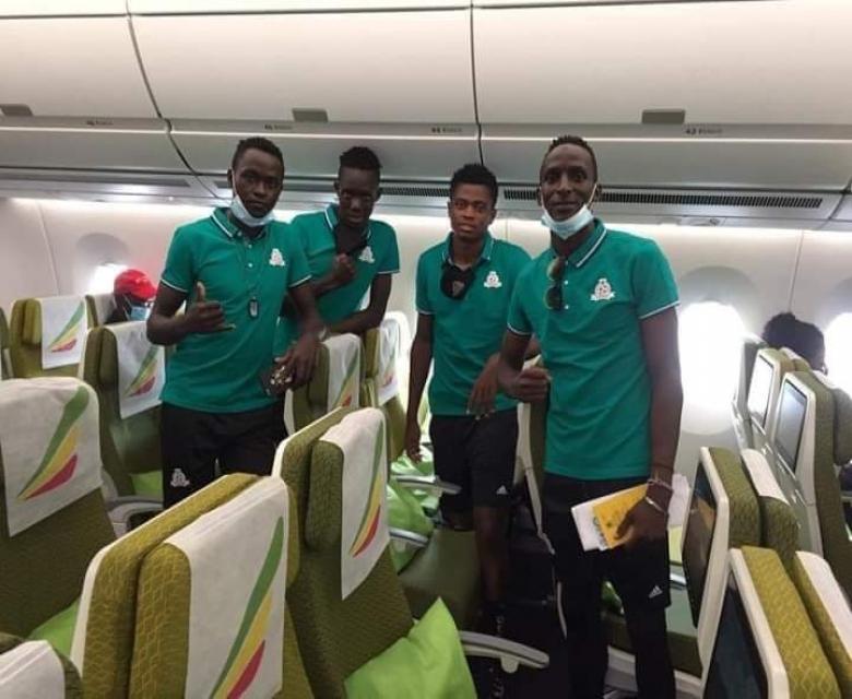 وصول ستة من لاعبي فايبرز للخرطوم