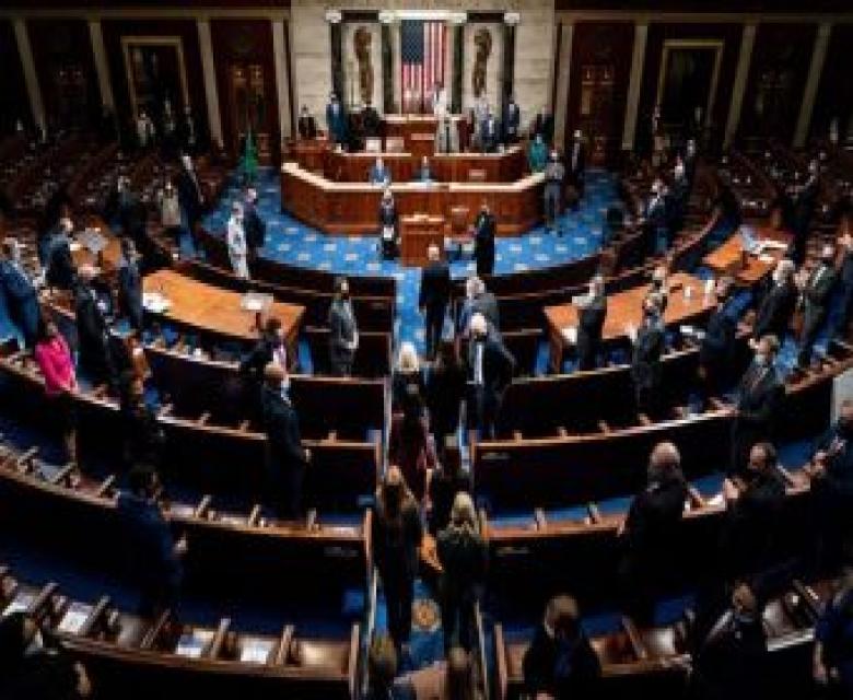 مجلس النواب يمرر مشروع قرار عزل ترامب عبر التعديل 25