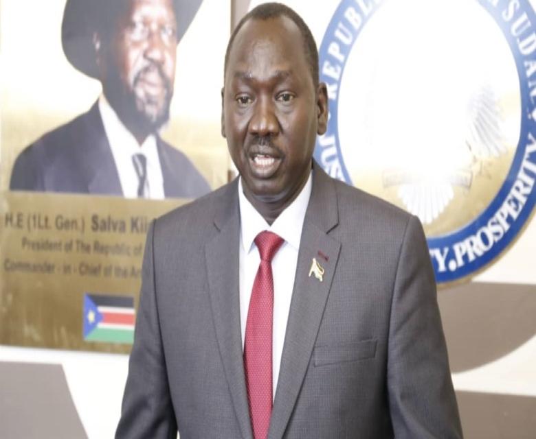 مطوك رئيس الوساطة الجنوبية : وجود اختلالات في وثيقة جوبا للسلام في السودان