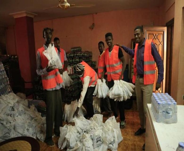 مبادرة افطار عابر سبيل حديث الشارع السوداني