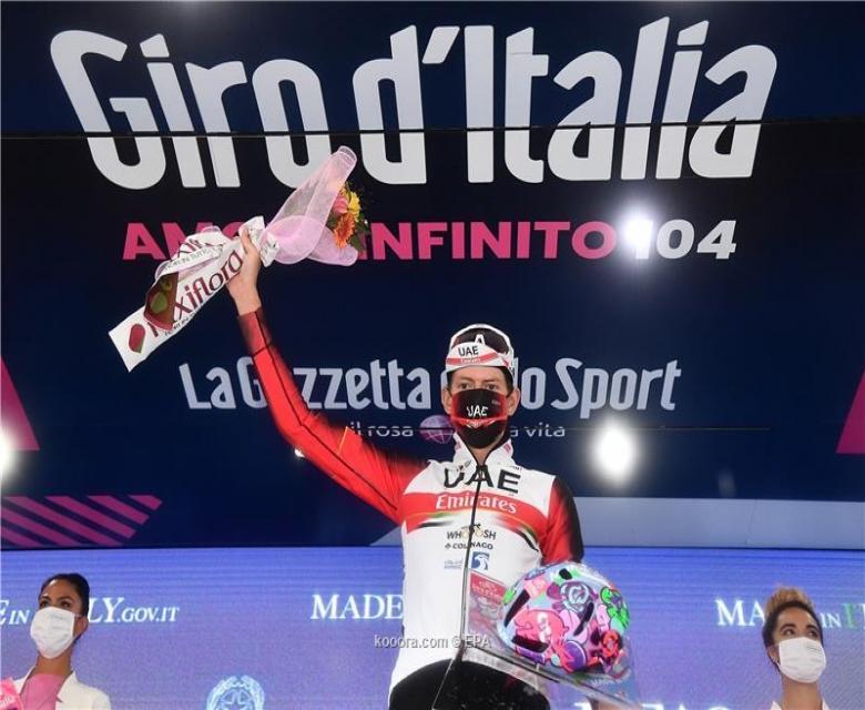 درجات..دومبروفسكي يفوز بالمرحلة الرابعة لسباق إيطاليا