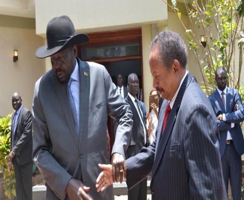 """حمدوك : الوقت الحالي الأفضل لـ""""شعب واحد في دولتين"""" مع جنوب السودان"""