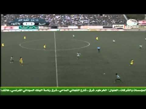 اهداف وملخص مباراة المريخ وبلاتنيوم الزمبابوي ابطال افريقيا 2012
