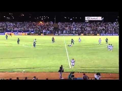 اهداف مباراة الاهلي شندي والهلال 1 / 2 كونفدرالية 2012 كاريكا وحمودة وسانيه